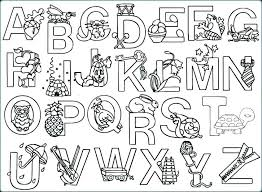 alphabet coloring pages printable bubble letters a z letter