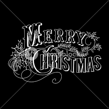 merry christmas card black and white. Delighful White Black And White Christmas Card Merry Lettering Inside Card I