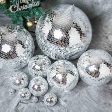 Disco Ball Decorations Cheap Extraordinary 32 Groovy Glass Mirror Disco Ball Party Decoration Efavormart