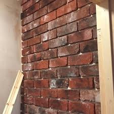 brick front cladding get a rustic