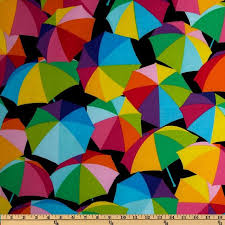 159 best Fun Fabric images on Pinterest   Quilting fabric, Sewing ... & Kanvas Just Beachy Beach Umbrella Multi - Discount Designer Fabric - Fabric .com Adamdwight.com