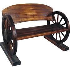 garden seat on wheels. Wagon Wheel Garden Bench | The Range £50 Seat On Wheels M