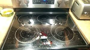 ge glass cooktop glass top glass top stove burner not working glass top stove replacement