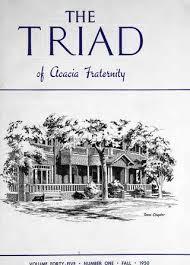 Acacia Triad - Fall 1950 - Vol. 45, No. 1 by Acacia Fraternity - issuu