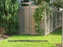 privacy fence design. Unique Fence Designs Trellis Fences Privacy Design D