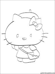 Ook Dit Hello Kitty Voor Kleine Meisjes Gratis Kleurplaten