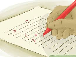 Writing A Proposal Example How To Write A Grant Proposal With Examples Wikihow