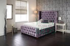 Crystal Upholstered Bed