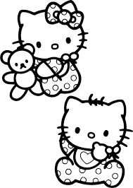 Hello Kitty Colring Sheets Coloring Book Remarkable Hello Kitty Coloring Pages Free
