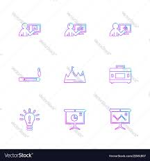 Smoking Chart Smoking Idea Chart Graph Percentage Vector Image On Vectorstock