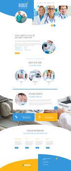 Top Medical Website Designs Medical Responsive Website Template 58241 Web Design Web