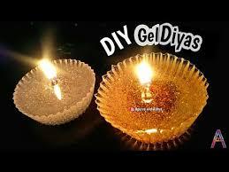 diwali decoration ideas diy gel diya easy diya home decoration