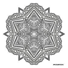 Small Picture Advanced Mandala Coloring Pages Bestofcoloringcom