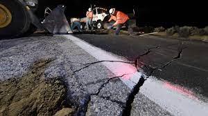Earthquake-rattled Southern California ...