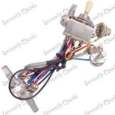 online buy whole guitar input jack wiring from guitar a set guitar wiring harness prewired 2 volumes 2 tones 4 500k pots 3
