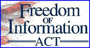 Image result for freedom of information act