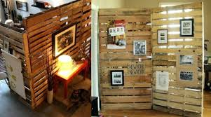 office dividing walls. Wooden Pallet Room Divider Office Walls Used Wall Dividers Glass Cubicle Dividing D