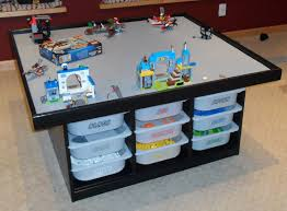 diy desk calendar unique diy lego table using ikea trofast frames and bins as a base