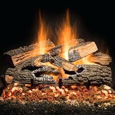 fireplace glass rocks phoenix lava installation