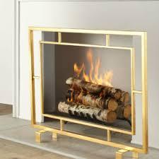 mid century modern fireplace screen. Mid Century Modern Fireplace Screen L