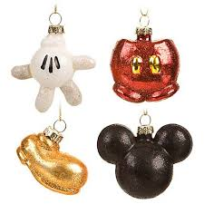 Your WDW Store - Disney Christmas Ornament Set - Best Of Mickey