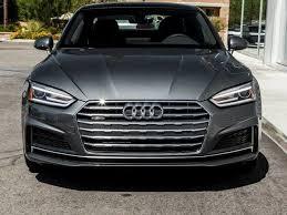 2018 audi grey. wonderful audi 2018 audi a5 coupe 20t premium plus quattro in rancho mirage ca  indigo on audi grey