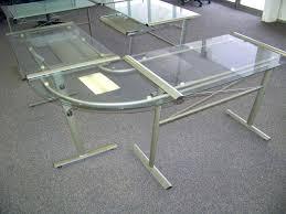 target l shaped desk desk workstation new glass l shaped desk furniture wood with hutch return