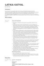Captivating Visual Merchandiser Resume 34 On Resume Examples with Visual  Merchandiser Resume