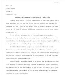 Example Of Persuasive Essay Outline Example Of A Persuasive Essay