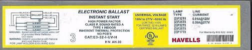 sylvania t8 ballast wiring diagram sylvania qtp 4x32t8 unv isn sc 277v Ballast Wiring Diagram 8 t8 2 lamp ballast how to install flourescent light ballast sylvania t8 ballast wiring diagram 120 277v ballast wiring diagram