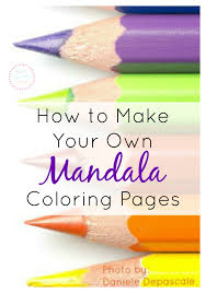 You can print as many online coloring pages as you want to keep your child busy for several hours. How To Make Your Own Mandala Coloring Pages For Free Online What Mommy Does