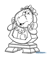 Small Picture Beauty and the Beast Coloring Pages 4 Disney Coloring Book