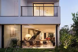 Contemporary townhouse in Tel Aviv Mendelkern Residence by David Lebenthal  (1)