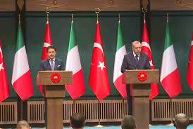 Turchia e Italia confermano la cooperazione nel Mediterraneo orientale alla  faccia della Grecia e della Francia