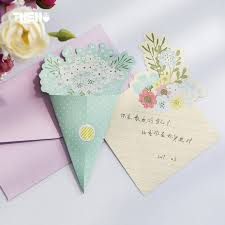 Letters Stationery 6pcs Set 4 Letters And 2 Envelopes Fresh Beautiful Bouquet Flower