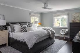 gray white black bedroom. Delighful White Gray And Black Bedroom With Bed Drawers Inside White