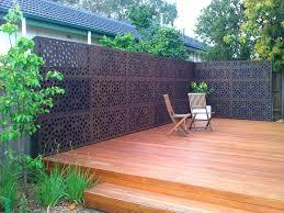 outdoor deck privacy screens