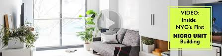 tiny spaces furniture. inside nycu0027s first micro apartment building transforming furniture for tiny spaces video inhabitat green design innovation architecture r