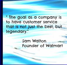 Customer Service Orientation Skills Customer Service Quote Sam Waltoncustomer Service Skills Blog