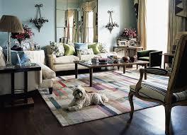 ... Open plan contemporary living room interior ...