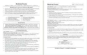Marketing Manager Resume Template Retail Sales Manager Resume ...