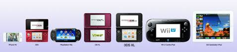 Nintendo Dsi Vs Dsi Xl Comparison Chart Nintendo Ds Large Screen Size