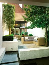 courtyard furniture ideas. small courtyard with water feature for the u0027just sou0027 furniture ideas