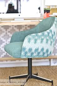 office chair reupholstery. I Won\u0027t Be Giving A Full Tutorial, But Hopefully The Photos Will Give You  Good Idea Of Our Process In Case You\u0027d Like To Try It! Office Chair Reupholstery