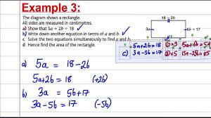 math problems involving quadratic equation awesome simultaneous solving equations