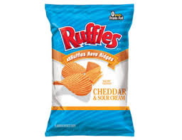 frito lay ruffles cheddar and sour cream nutrition information database