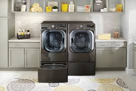 laundry with new ai powered washer lg