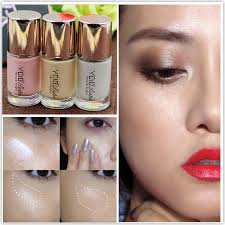 1pcs professional face foundation makeup natural bright liquid bronzer highlighter color correcting pigment maquiagem in bronzers highlighters from
