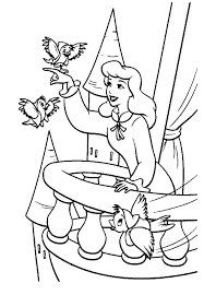 Small Picture Cinderella Coloring Pages To Print Coloring Pages Coloring