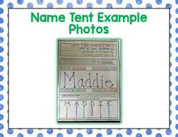 name tent back to school name tent by the science duo teachers pay teachers